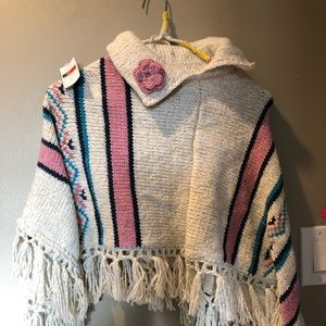 Other - Handmade poncho